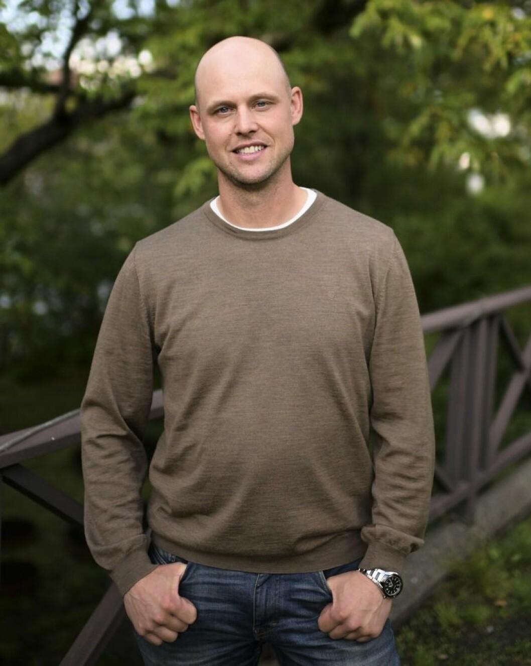 Jimmy Olofsson i Bonde söker fru
