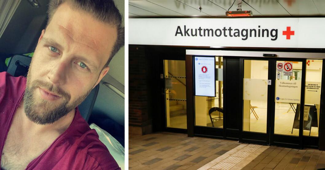 33-årige Jimmy Sjöberg stukade fingret – dödförklarades av läkare