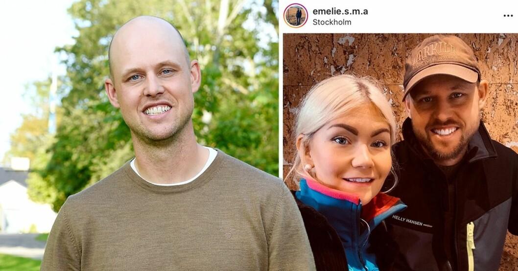 Jimmy och Emelie träffades i Bonde söker fru.