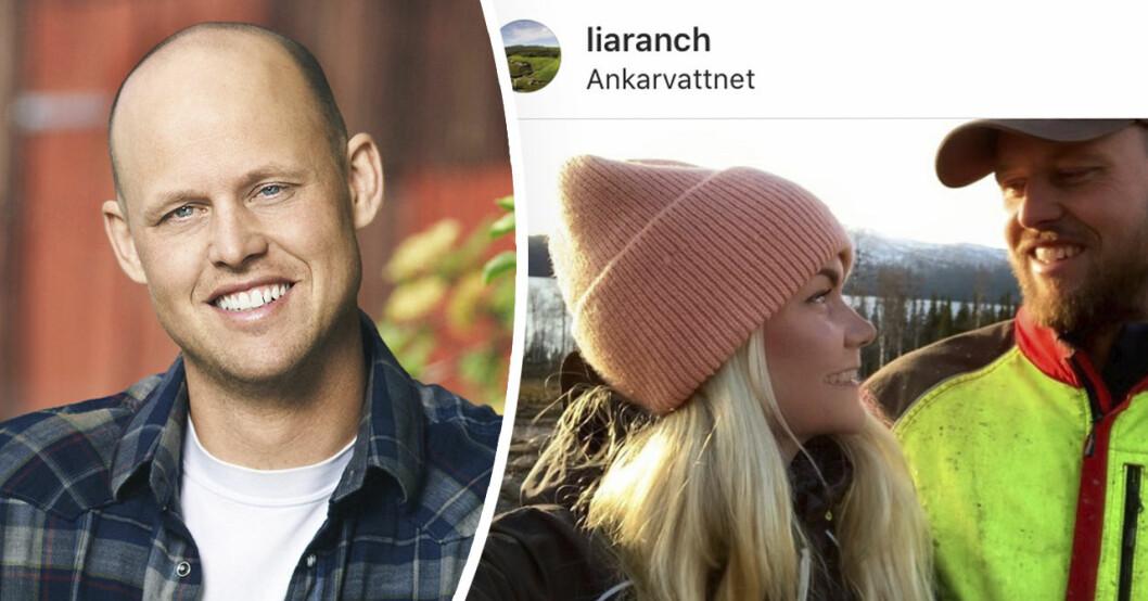 Bonde söker fru-paret Jimmy Olofsson och Emilie Åström.