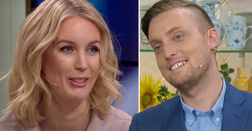 Jenny och Axel leder Nyhetsmorgon