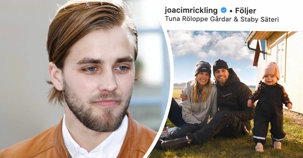 Joacim Ricklings nya framtidsbesked efter tuffa tiden