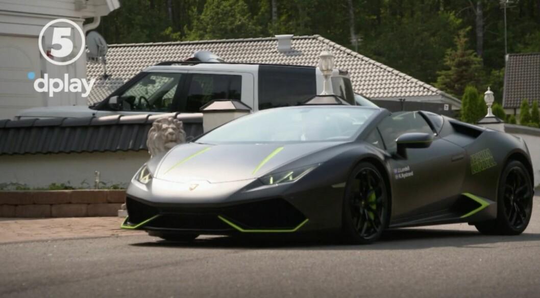 Joakim Lundells Lamborghini
