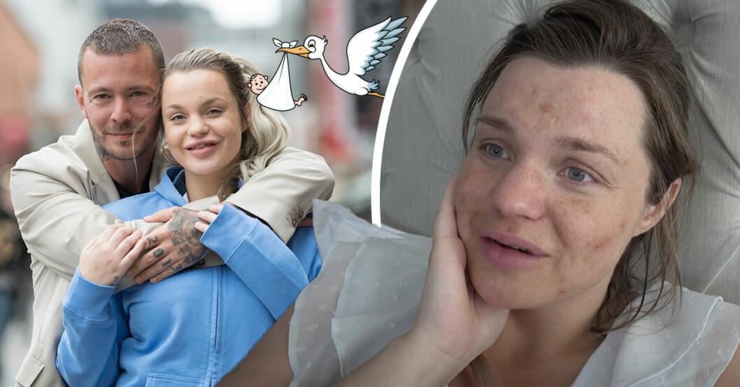 Jocke och Jonna Lundell avslöjar könet på bebisen – orden om stora familjelyckan
