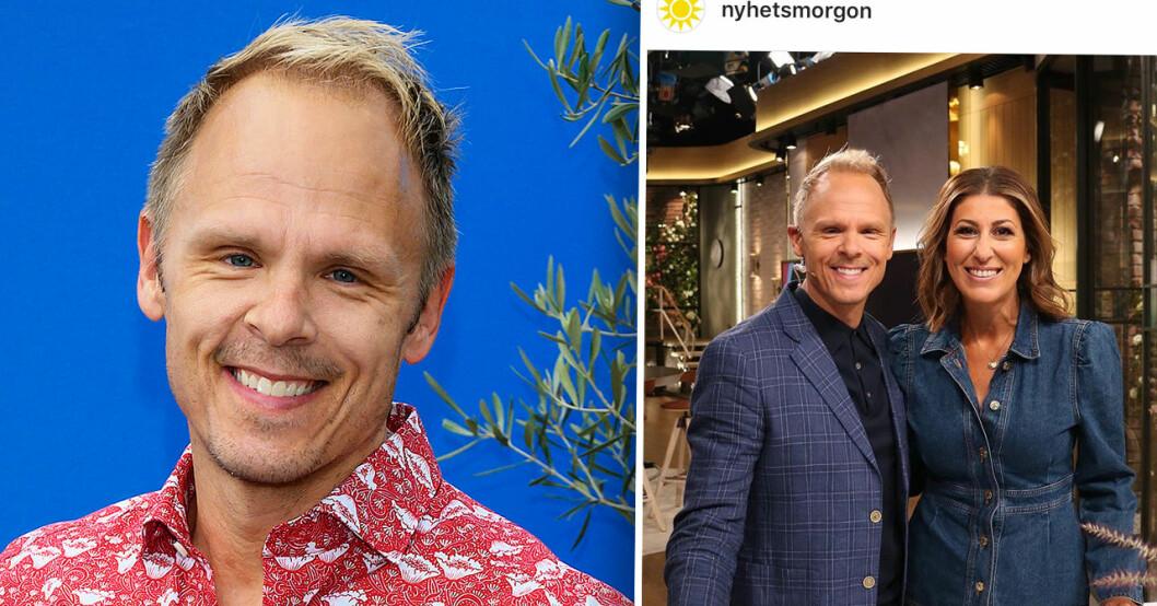 Johan Macéus om nya TV4-uppdraget i Nyhetsmorgon