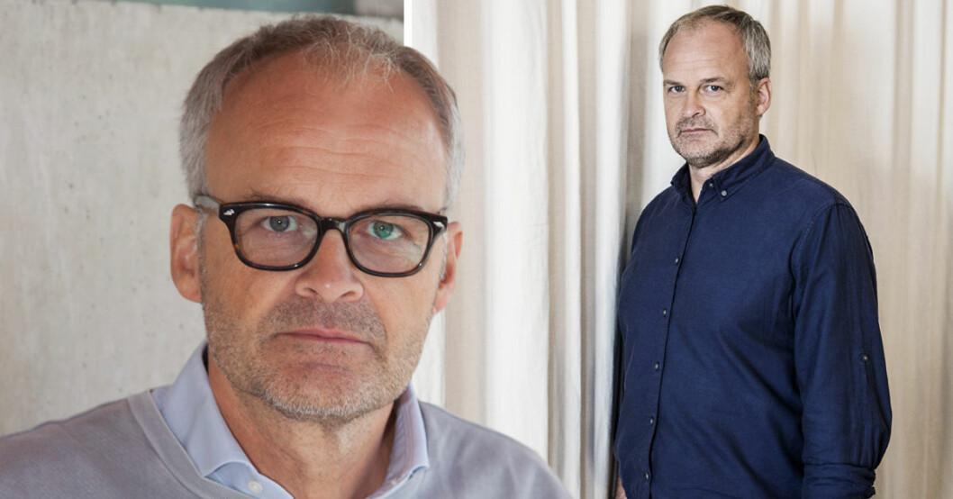 Johan Rheborg berättar nu ärligt i TV4:s Nyhetsmorgon om sin depression.