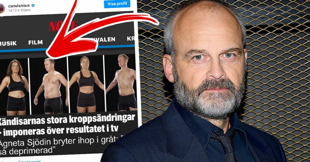 Johan Rheborgs stora ilska mot Den stora hälsoresan – kändisarnas stöd