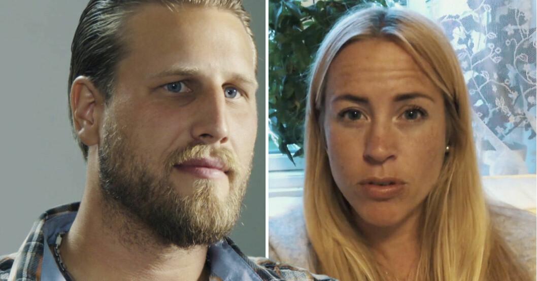 Johan Skantz och Susanna Lundberg i Gift vid första ögonkastet 2021.