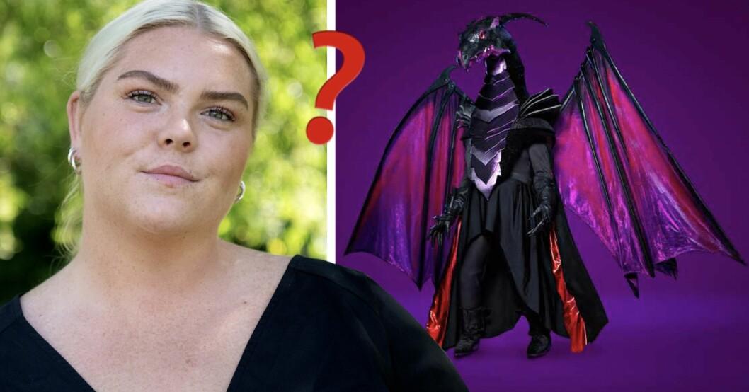 Är Johanna Nordström Draken i Masked singer Sverige