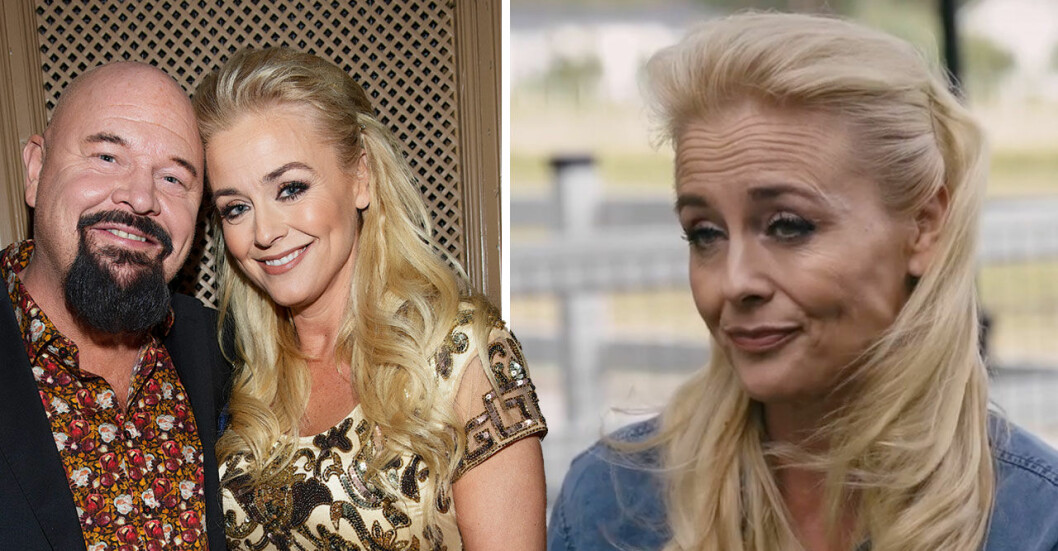 Anders Bagge och Johanna Lind Bagge på Svenska hjältar-galan 2018.