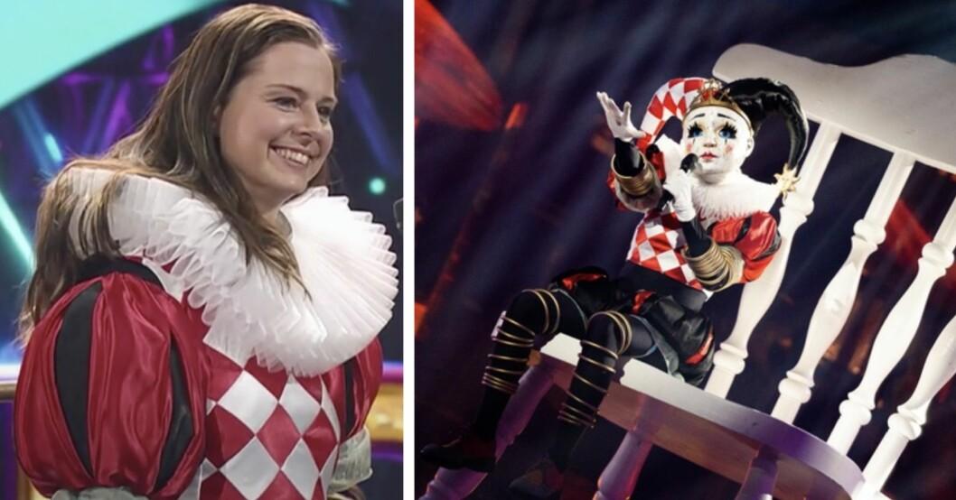Lotta Schelin är Jokern i Masked singer