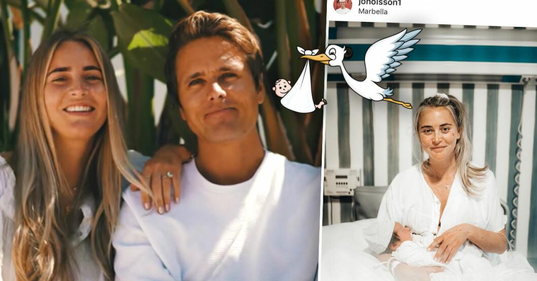 Jon Olsson och Janni Olsson Delér
