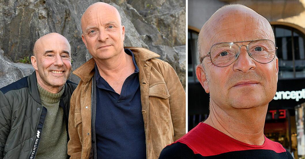 Jonas Gardell och Mark