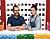 Jonas Wide och Liv Brandt i Lego Masters Sverige 2021
