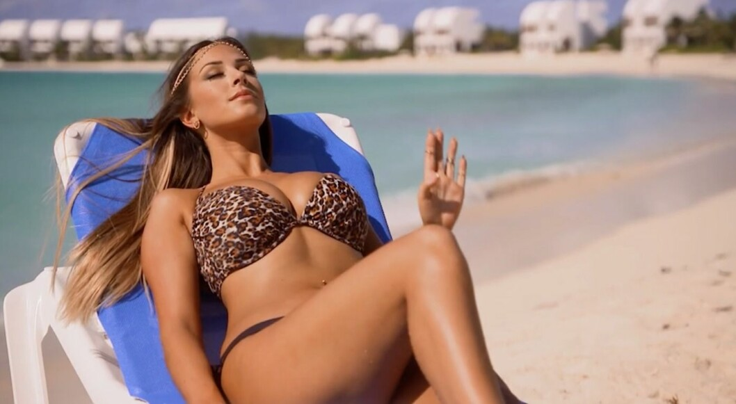 Josephine Qvist i Ex on the beach 2015