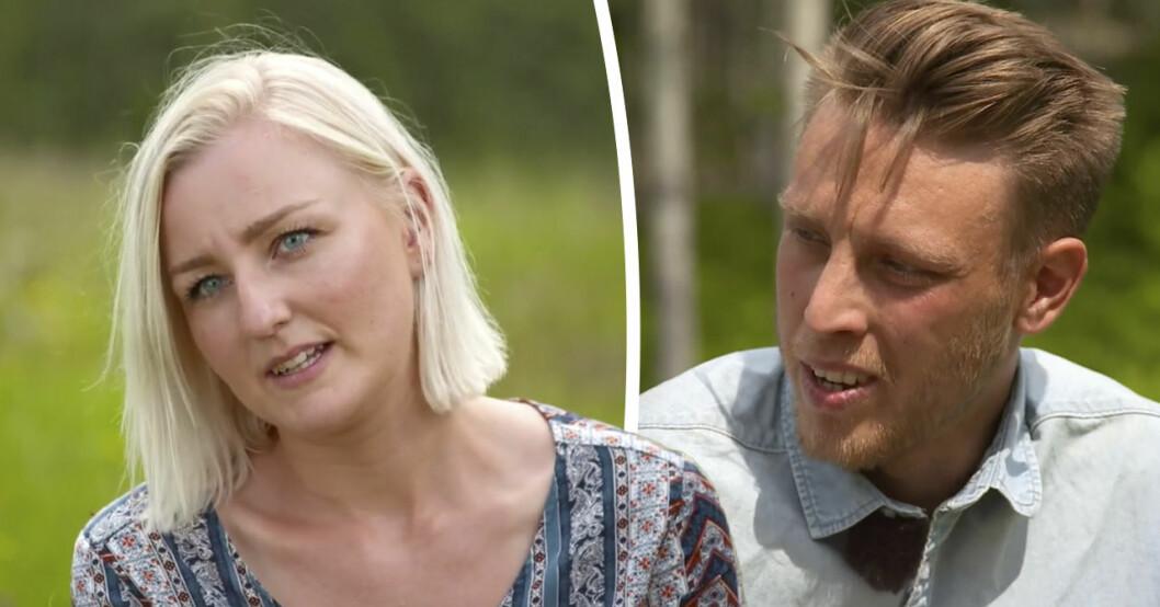 Josefin Bertelsens avslöjande om Pelle Hansson Edhs slutval i Bonde söker fru 2019.