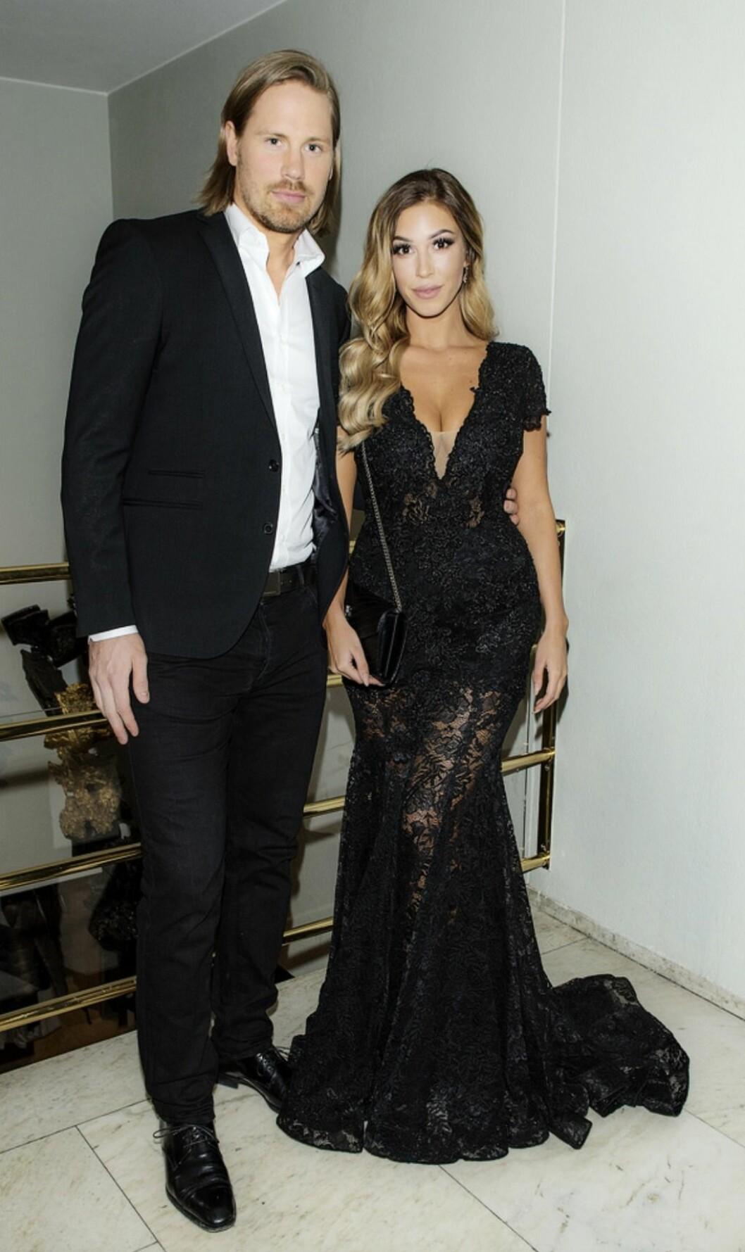 Stefan Warg och Josephine Qvist på gala