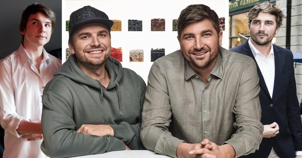 Anton Juholt och Viktor Juholt i Lego Masters Sverige 2021