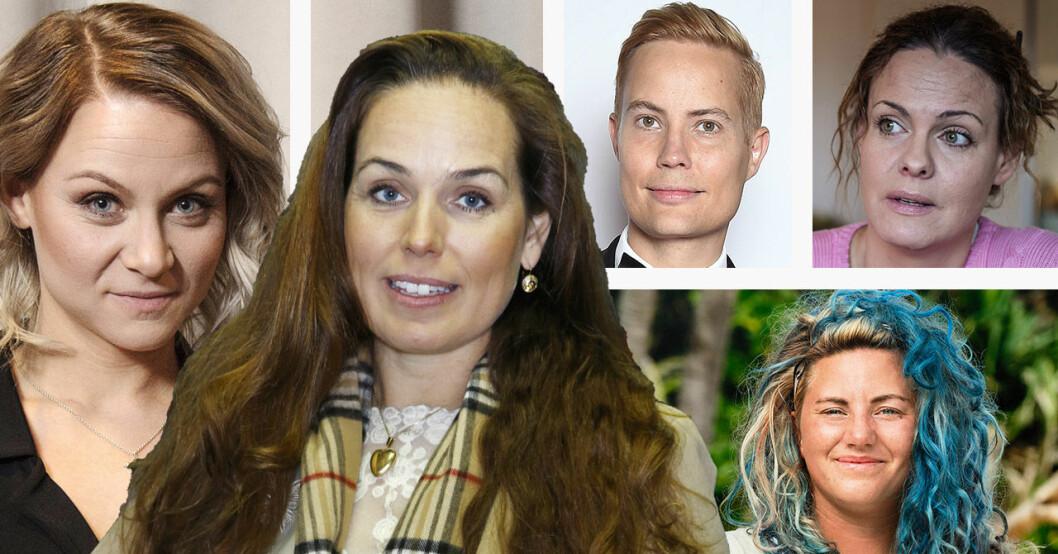 Theodora Larsson, Sigrid Bergåkra, Henrik Alsterdal, Suzanne Sjögren och Linn Lund.