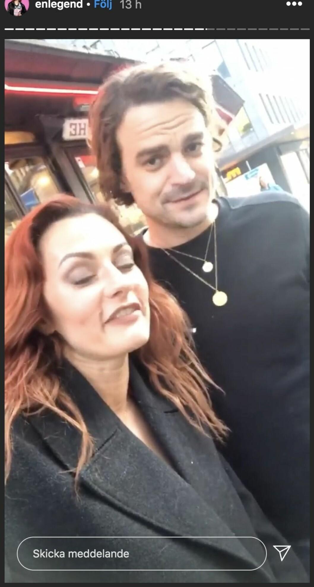 Julia och Martin är vänner utanför Big Brother