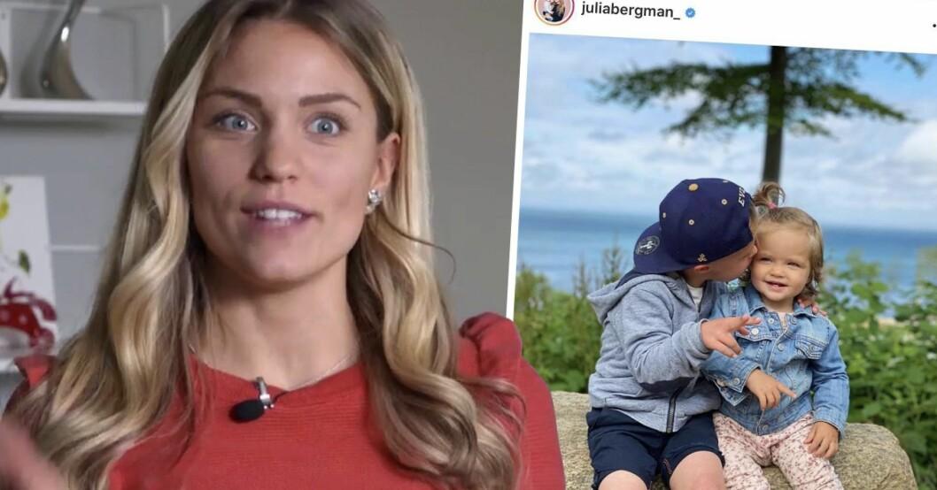 Julia Bergmans känslosamma ord om Milan och Zeldas relation