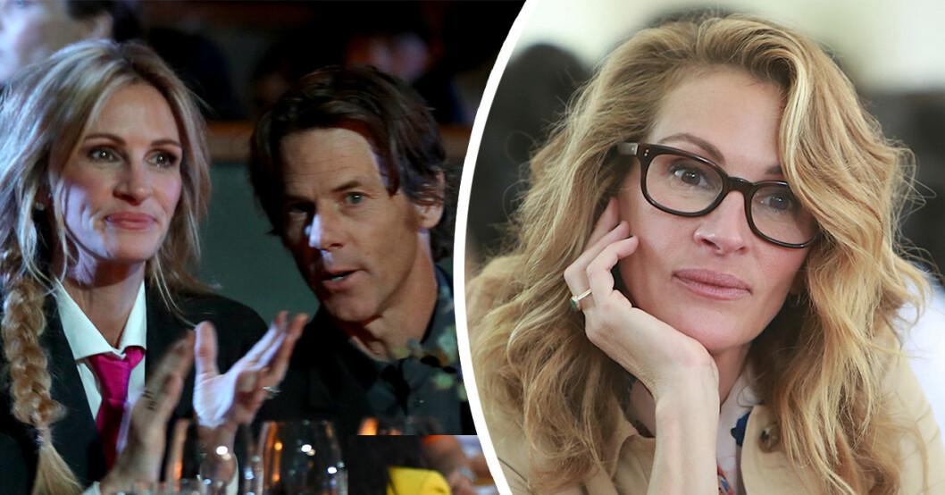Julia Roberts flyr Hollywood efter äktenskapskrisen med Danny Moder