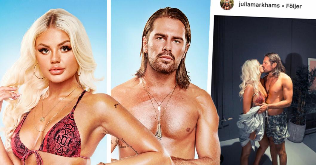 Sanningen om Julia Markham och niklas Åkerlunds relation efter ex on the beach
