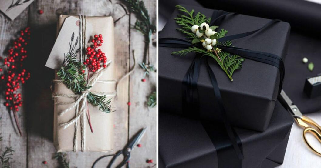 Här är julklappsdekorationer du enkelt kan göra själv.