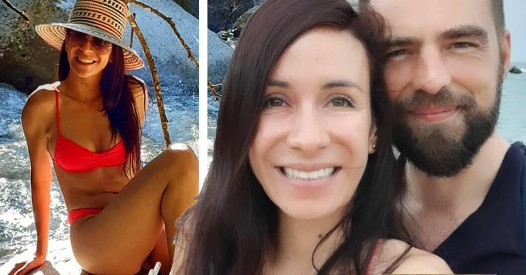 Mary Cruz Avendano och Justin Danton
