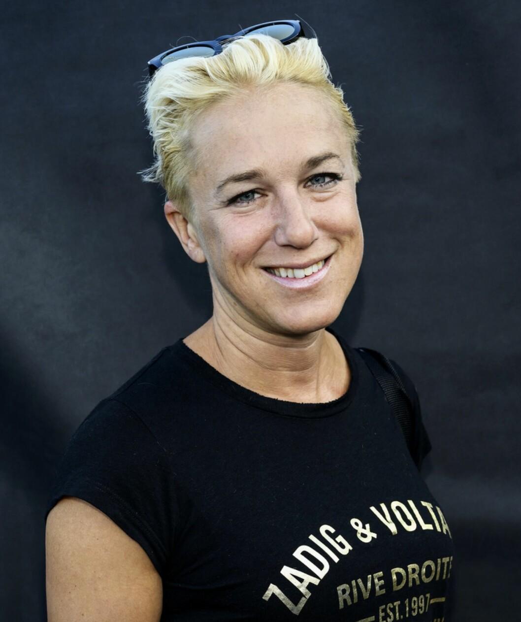 Kajsa Bergqvist i Superstars på hemmaplan