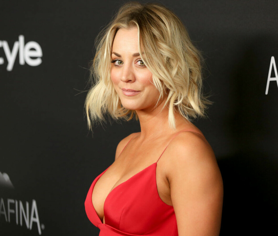 Mandatory Credit: Photo by David X Prutting/BFA/REX/Shutterstock (5528418k) Kaley Cuoco InStyle And Warner Bros Golden Globe Party, Los Angeles, America - 10 Jan 2016