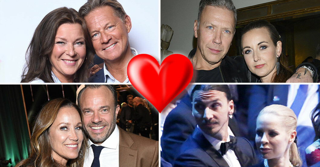 Lotta Engberg, Mikael Sandström, Renée Nyberg, David Hellenius, Mikael Persbrandt, Sanna Lundell, Zlatan Ibrahimovic, Helena Seger.