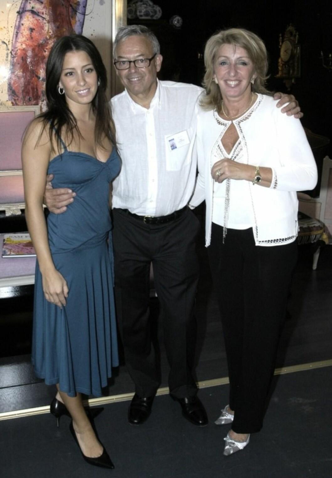 Liza, Kaj och Karin Laserow