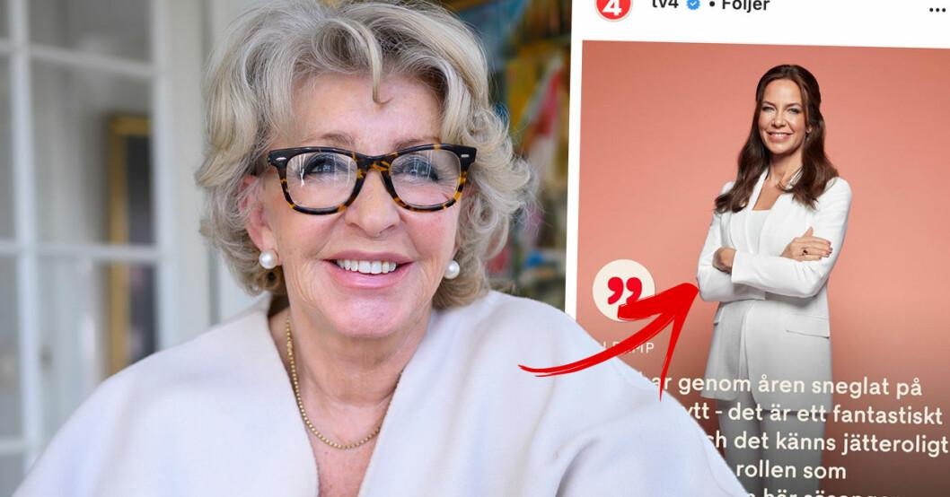 Li Pamp ersätter Karin Laserow i TV4:s Bytt är bytt