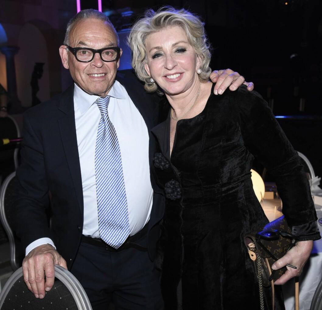 Karin Laserow och maken Kaj