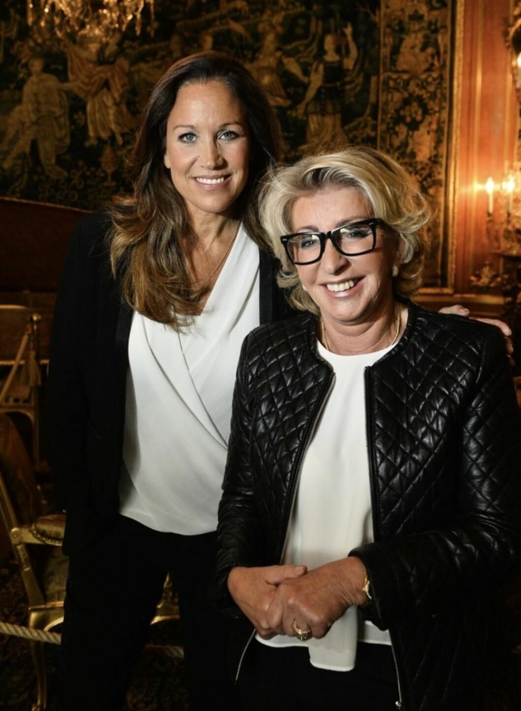 Karin Laserow och Renée Nyberg