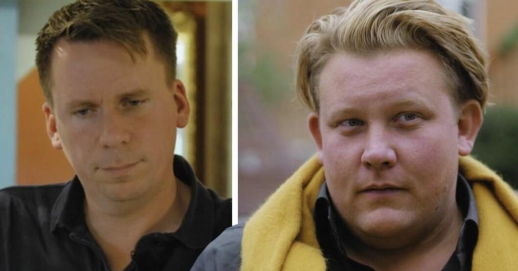 Karl Fredrik och Petter.