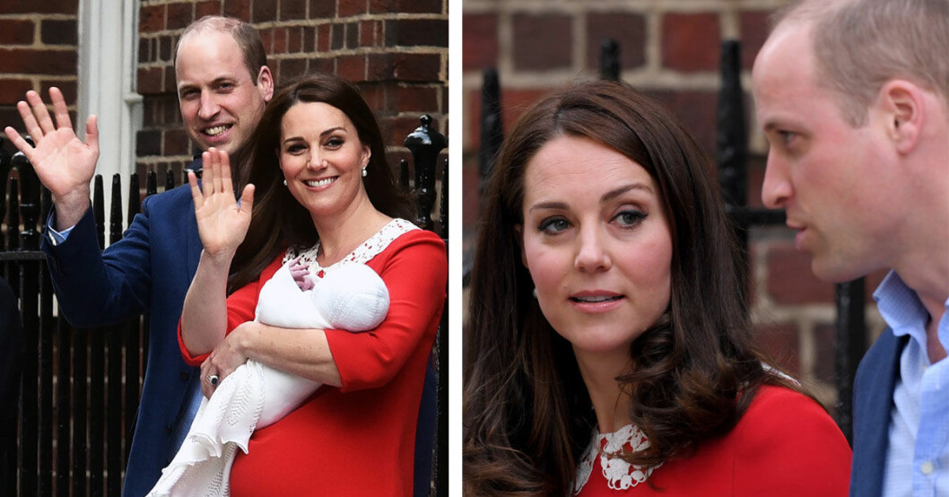 Prins William och Kate Middleton har fått sitt tredje barn.