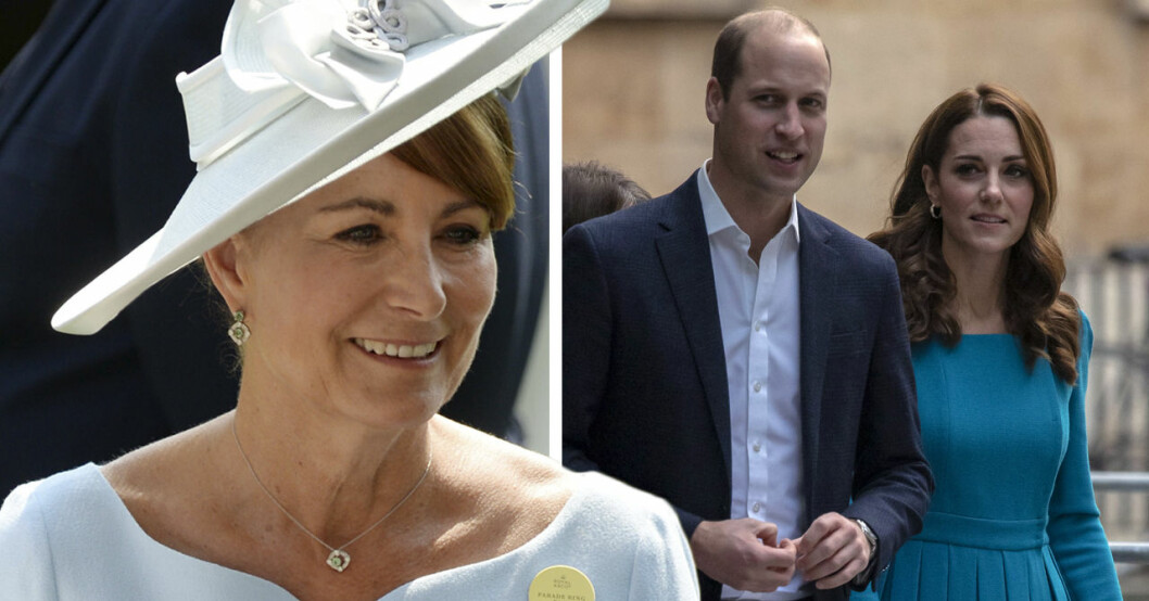 Kate Middletons mamma Carole Middleton om relationen med dottern