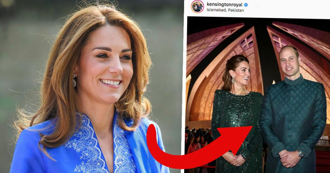 Följarnas spekulation efter bilden på Kate Middleton