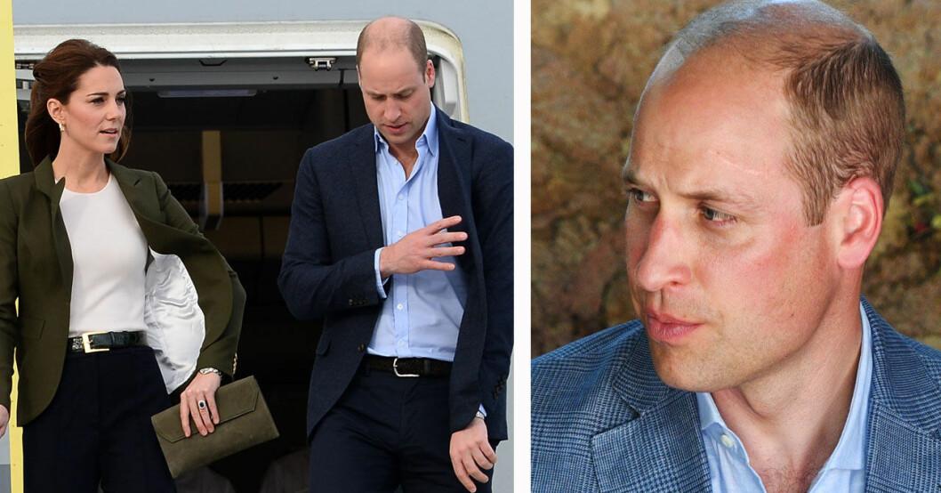 Prins William har ingen vigselring
