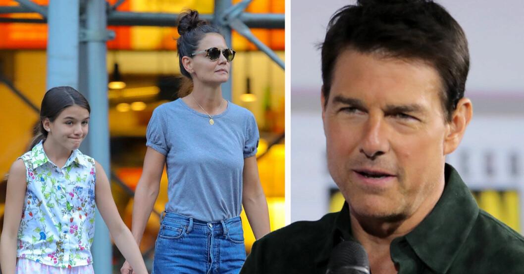 Tom Cruise relation med Katie Holmes och dottern Suri