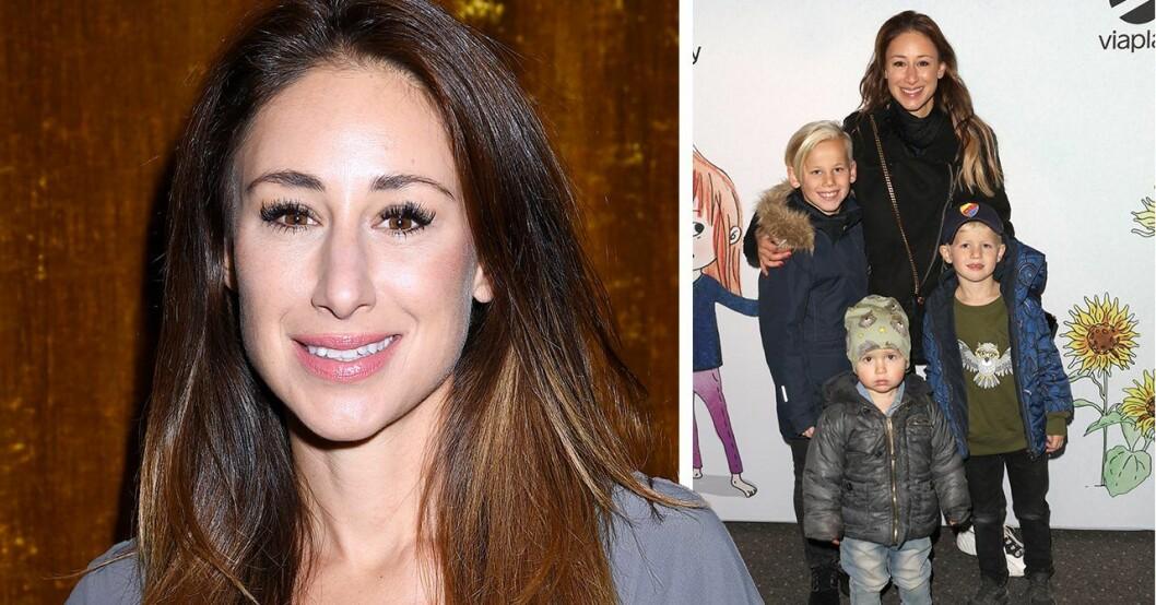 Katrin Zytomierska avslöjar att besöket hos frisören i Stockholm med sonen Ringo förvandlades till en mardröm.