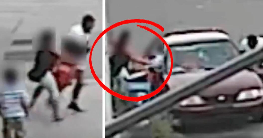 Hjältemamman räddar sin 5-årige son efter kidnappningsförsök