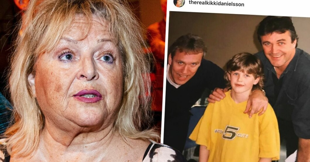 Kikki Danielssons nya drag med sonen Viktor – detaljen i bilden som avslöjar