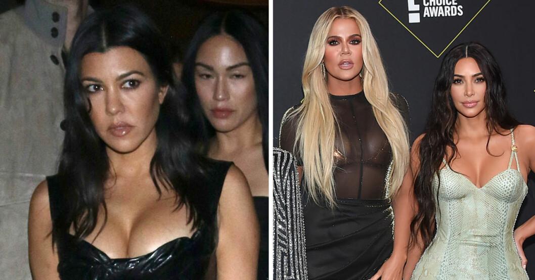 Kim, Kourtney och Khloe Kardashian