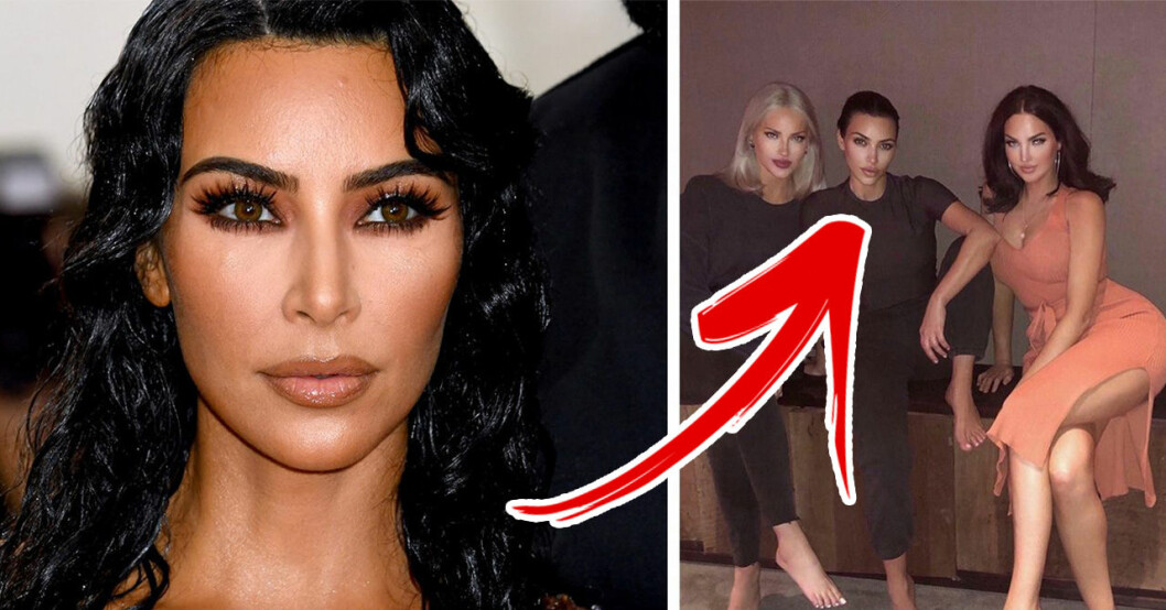 Fansen rasar efter upptäckten i Kim Kardashians nya bild