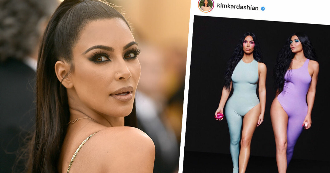 Nya bilden på Kim Kardashian får följarna att undra om stjärnan har sex tår.