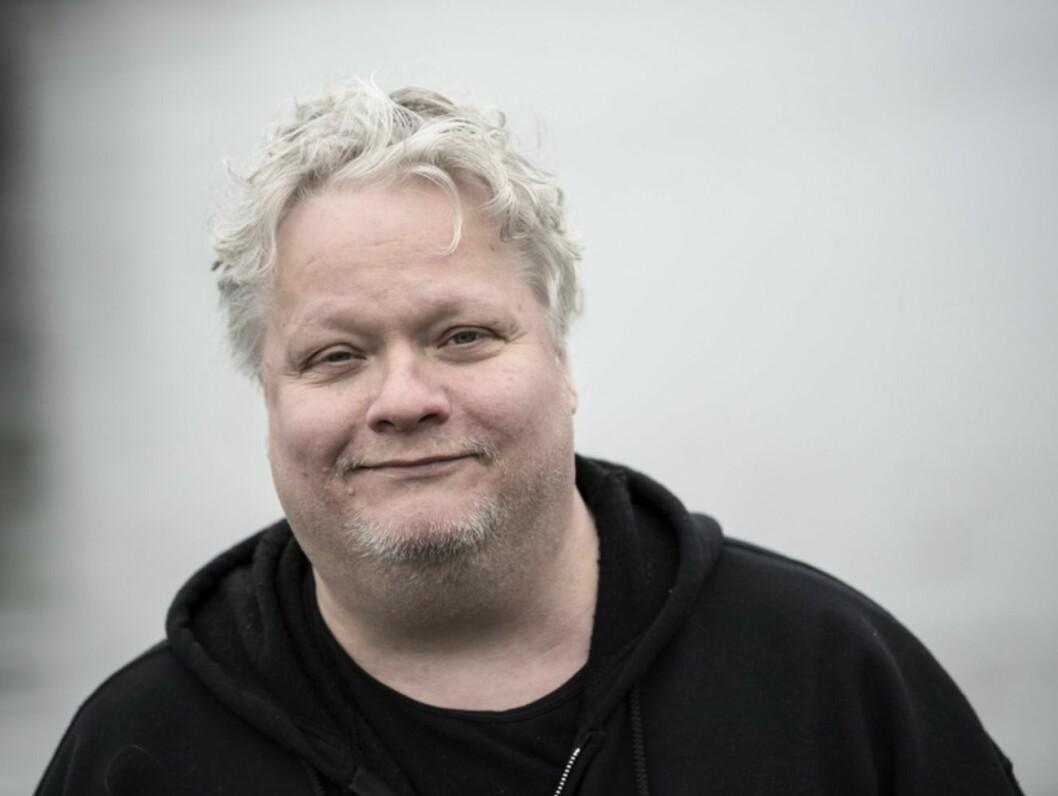 Kjell Wilhelmsen i svart tröja