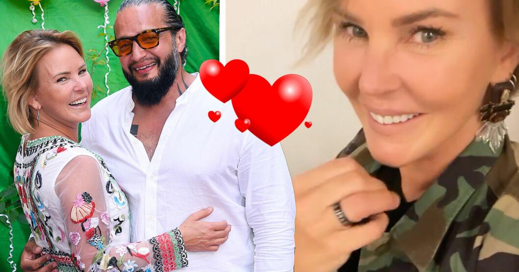 Magdalena Graaf har förlovat sig